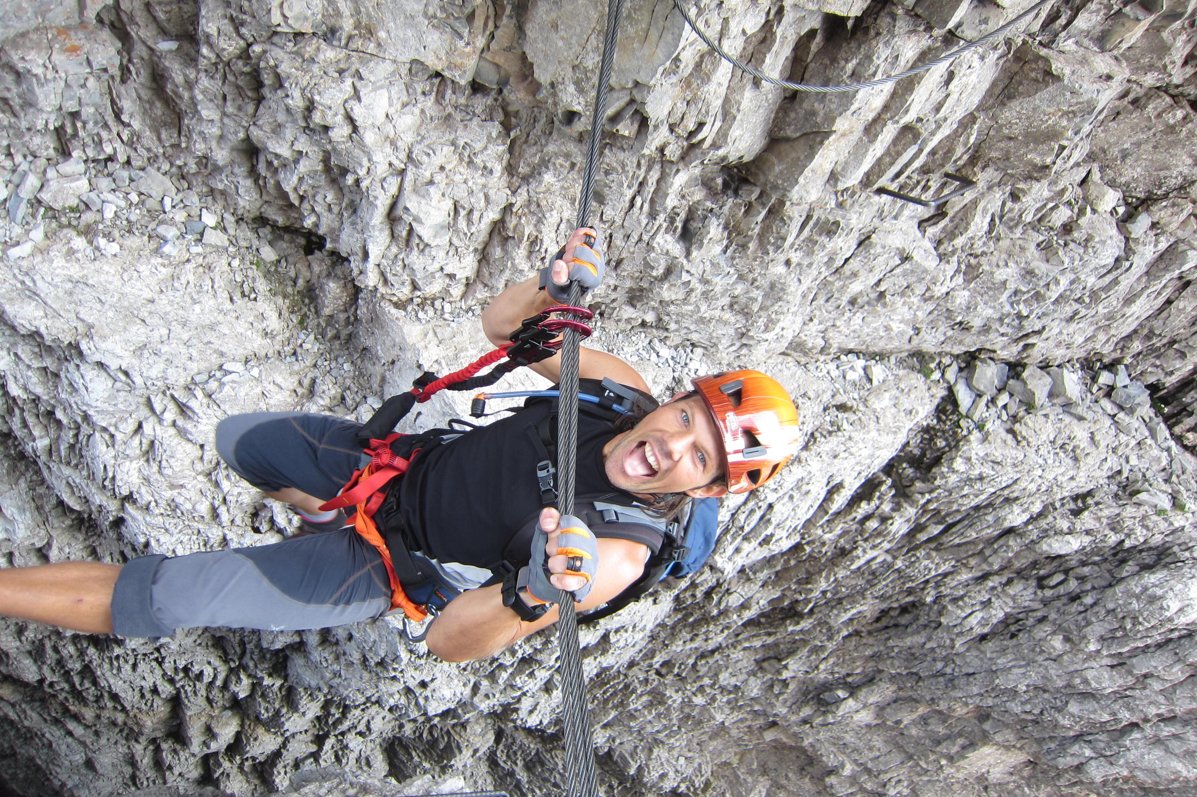 Klettersteig Outfit : Klettersteig outfit check der geierwand c bergwelten